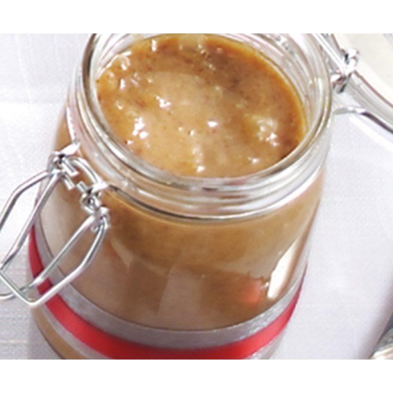 Caramel aux noix et à l'érable