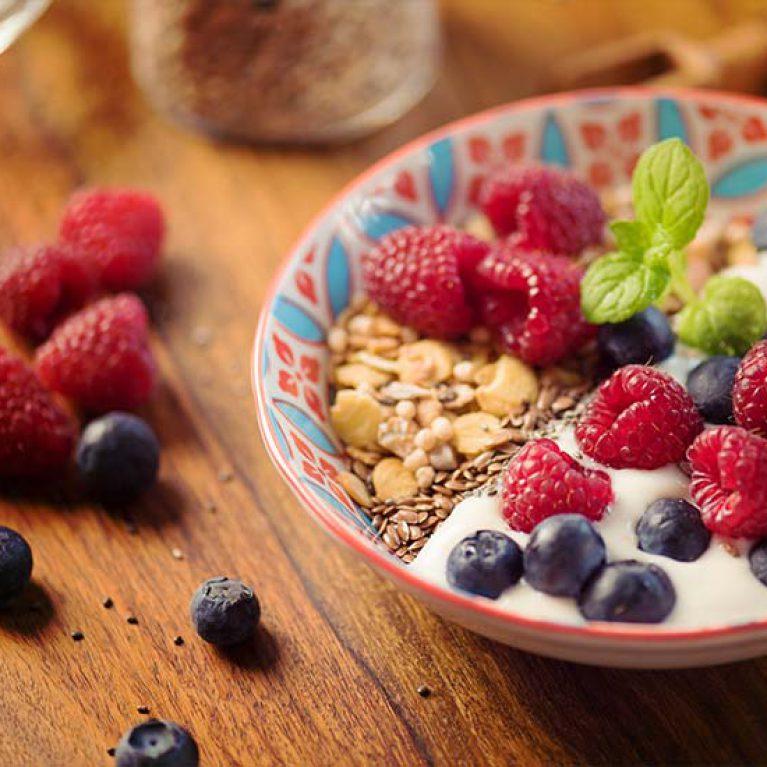 Petit déjeuner santé