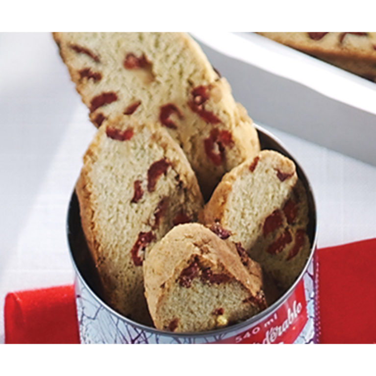 Maple & Cranberry Biscotti