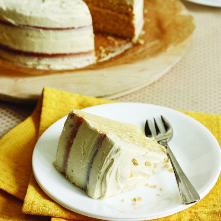 Vanilla Maple Butter Cake